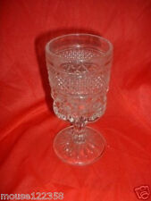Anchor hocking Wexford Footed Goblet or Glass
