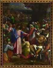 Sebastiano del Piombo il reperimento di Lazarus stampa in A4
