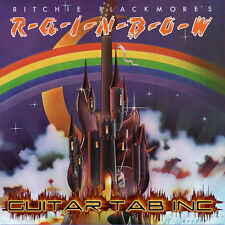 Rainbow Digital Guitar Tab RITCHIE BLACKMORE'S RAINBOW Lessons on Disc Dio