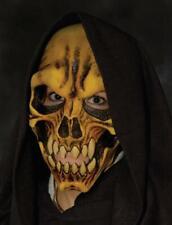 Skull Mask Hooded Dem Bones Monster Terrifying Halloween Costume Party M2118