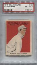 1915 Cracker Jack # 140 Dan Murphy PSA 6 (073)