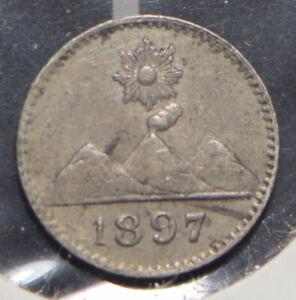 Guatemala 1897 1/4 Real  191059 combine shipping