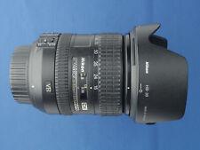 Nikon DX AF-S NIKKOR 16-85mm f/3.5-5.6 DSLR VR Lente Para Nikon ED C/W Capucha Y Tapas