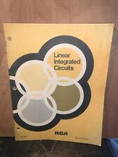 1971 Rca Linear Integrated Circuits Booklet.