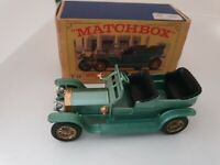 Scale 1:43 Matchbox Lesney Made in England Lesney issued 1961 Models-of-Yesteryear Silver-Ghost 1907 #15 Rolls-Royce