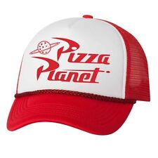 Pizza Planet Hat Disney vacation Toy Story cosplay funny adjustable Mesh Caps