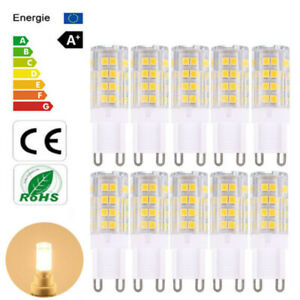 10x/1x G9 LED 51SMD 2835 Bulb 6W Capsule Light Energy Saving Light 220-240V Lamp