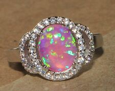 -pink-fire-opal-cz-ring-gemstone-silver-jewelry-sz-825-elegant-cocktail-style-e0