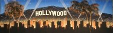 Hollywood party backdrop