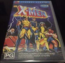 Marvel Comics X-Men  Vol 3  VHS Format