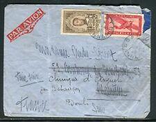 Indochine - Enveloppe de Dalat pour la France en 1938 - ref D181
