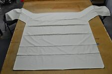 1966 66 1967 67 DODGE CORONET 2 & 4 DR SEDAN 5 BOW OFF WHITE HEADLINER USA MADE