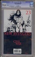 New Avengers #23 (Baltimore-Toronto 2006 Comic-Con Sketch Variant) / Cgc 9.6