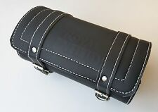 Leather BLACK Color Tool Roll Bag Brand New For Royal Enfield Motorcycles Bullet
