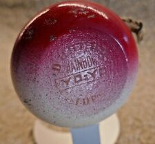 """RARE '50s DUNCAN """"RAINBOW"""" Stamped TOURNAMENT YoYo in GOOD-FINE CONDITION"""
