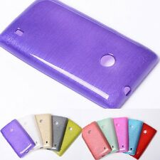 Shiny Gem Agate Beauty Silk Smooth TPU Case Cover Skin for Nokia lumia 520