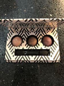 LAURA GELLER 3 Mini Eyeshadow Palette Baroque-Cafe-Roma BNIB
