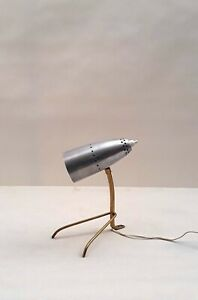 Rare Table/Desk Lamp by Rupert Nikoll 1950s Austria sarfatti prouve perriand era