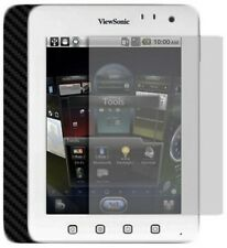 Skinomi Carbon Fiber Black Tablet Skin+Screen Protector for ViewSonic ViewPad 7E