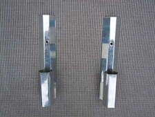 Appliques moderniste métal chromé vers 1930 paire d'appliques design