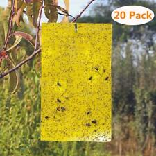 BestTrap 20-Pack Dual-Sided Yellow Sticky Traps for flying Insects
