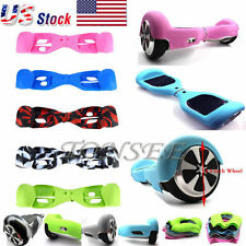 """For 6.5"""" 2 Wheels Silicone Smart Self Balancing Scooter Hover Board Case Cover A"""