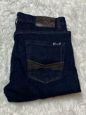 Seven 7 Straight Leg Blue Jeans Men's Size 32X34