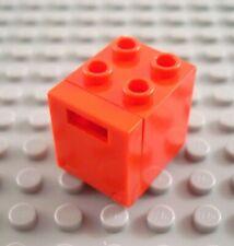 2x 3941 Brown//Marron Braun Lego 2x Container Tonneau Barrel 2x2x2 2489