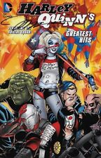 "Jim Lee signed Harley Quinn""s Greatest Hits soft cover Suicide Squad"