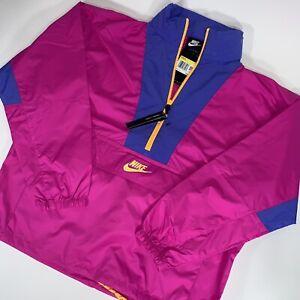 NEW Sz Small Women's Nike Sportswear Icon Clash Windrunner Pink CJ2289-601 $100