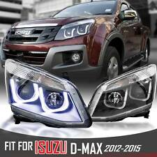 Clear Projector HeadLight Lamp BMW M6 Style Isuzu D-MAX DMAX Rodeo Ute 2012 -15