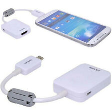 For Samsung Galaxy S3 S4 S5 Note Adapter Cable 2 Micro USB MHL 2.0 To HDMI HDTV