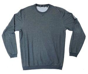 Mens Travis Mathew Black Golf Pullover Shirt Size XL Mercedes Benz Excellent