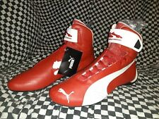 puma Future pro cat Hi racing shoe Scarlet  red  white  2000std new  euro 44