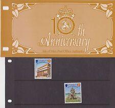 Isla de man Presentación Pack 1983 Postal independencia 10TH aniversario 10% de descuento de CUALQUIER 5+