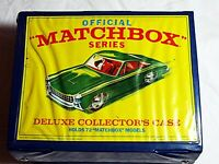 Vintage Matchbox Lesney Deluxe Collector's Case Holds 72 Cars