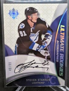 2008-09 Ultimate Collection Steven Stamkos Ultimate Rookies Rookie Auto /99