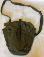 RARE Early 58 1958 Pattern Webbing S6 Respirator NBC Gas Mask Bag British 72 44