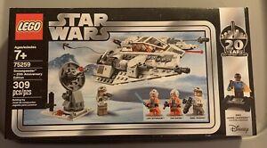 LEGO Star Wars Snow Speeder 20th Anniversary Edition (75259) New in Packaging