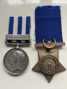 Egypt War Medals 1882 To Pte G Davidson 15th Coy C & T Corp