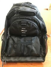 """Targus Rolling Notebook Backpack - carrying 15.4"""" black #TSB700"""