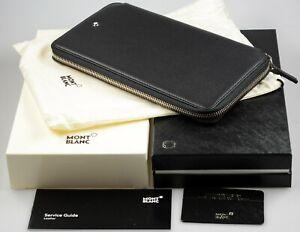 MONTBLANC Meisterstück Softgrain Reise Brieftasche Travel Wallet 13cc 113304