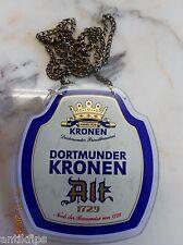 Dortmunder Kronen Alt Zapfhahnschild R 33