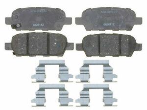 Rear AC Delco Brake Pad Set fits Infiniti G37 2008-2013 34WSXC