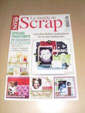 SCRAPBOOKING Le monde du scrap N°7 mars 2011