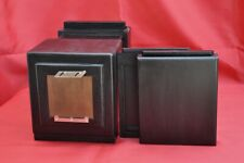 WET PLATE WOODEN CAMERA 4x5 inc + 2 Chassis COLLODION LARGE FORMAT brass wood