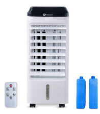 PureMate 5 Litre Portable Air Cooler Humidifier Evaporative Cool Fan With Remote