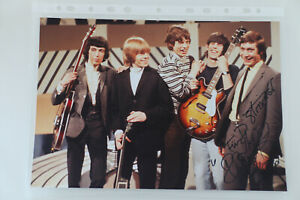 Autogramm Charlie Watts Rolling Stones original autograph signed 8x10 20x30 cm