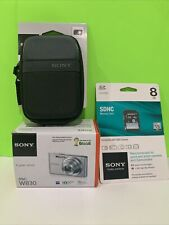 Sony Cybershot DSC-W830 Digital Camera 20.1MP -TT0564) Open Box