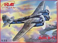 ICM  Avia B-71,Luftwaffe,German Air Force,WW II,Flugzeug,Bausatz 1:72 ,72163,NEU
